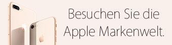 Besuchen Sie die Apple Markenwelt.