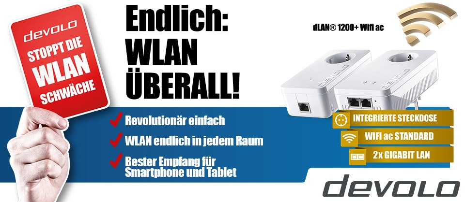 devolo dLAN® 1200+ Wifi Starter Kit