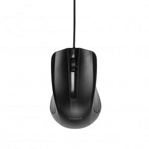 VIVANCO 3 Tasten Maus schwarz