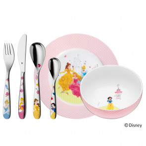 WMF Disney Princess Kinder-Set, 6-tlg.