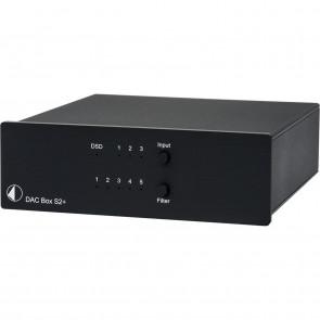 PROJECT DAC-BOX-S2+ UNI BLACK D/A KONV.