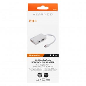 VIVANCO Mini DisplayPort Univ.-Adapter