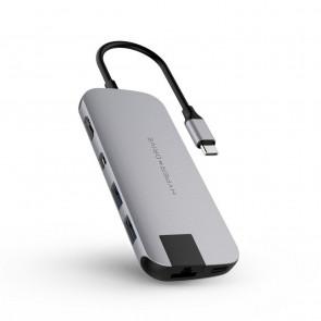 HyperDrive Slim 8in1 USB-C 3.0 spacegrau