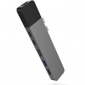 HyperDrive Net 6in2 Multi-Adapter grau