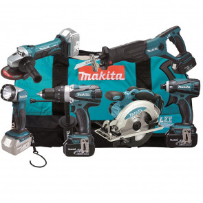 Makita DLX6011 Combo Kit Akku