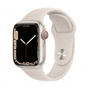 Apple Watch Series 7 LTE 41mm Polarstern