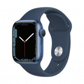 Apple Watch Series 7 GPS 41mm Blau
