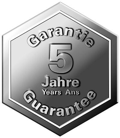 TRISA 5 JAHRE GARANTIE